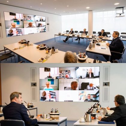 Wilhelm & Willhalm event technology group LED Wand systemintegration staatskanzlei samsung IFH-P15
