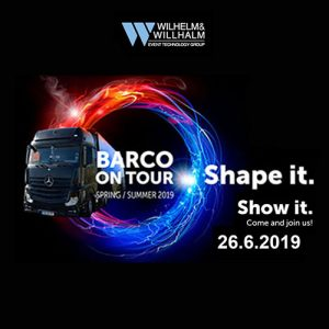 Barco Truck on Tour